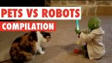 Pets Vs Robots Video Compilation 2016