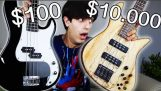 $100 Bass Guitar Vs. $10,000 Bass Guitar