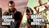 Недоліки в GTA V у порівнянні з GTA IV