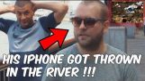 Tiró el iPhone en el río (Magia sale mal)