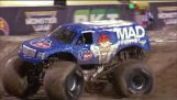 In primo luogo mai Monster Jam Truck front flip – Lee O'Donnell a Monster Jam Finali Mondiali XVIII PIENO RUN