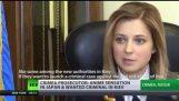 Blonde Bombshell: Crimea prosecutor Natalia Poklonskaya internet sensation & 'wanted' in Kiev