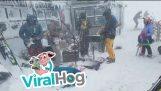 Tram Jam Performance on Ski Hill