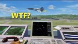 TROLLING as an Air Traffic Controller in Flight Sim X! (Multiplayer)