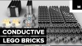 Conductive LEGO bricks