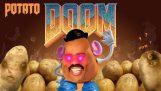 Hoeveel aardappelen heb je nodig om het Doom-spel te spelen?;