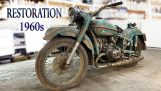 Restoration of an old Soviet motorcycle