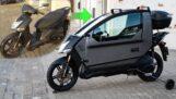 Een scooter in een klein voertuig veranderen
