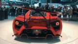 The interactive spoiler supercar Zenvo TSR-S
