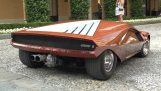 Lancia Stratos Zero: a supercar of 1970
