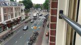 高峰时间在阿姆斯特丹