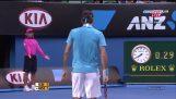 В 10 умнее выстрелов Роджера Федерера