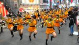 Die berühmte japanische Schulband Kyoto Tachibana