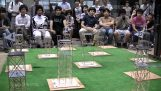 Διαγωνισμός αντισεισμικών κατασκευών από chopsticks στην Ιαπωνία