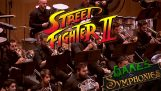 The music of Street Fighter 2 by a symphony orchestra