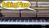 เปียโนพูด