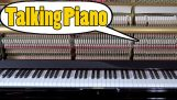 The piano speaking