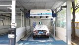 Automatic car wash without brushes