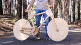 Konstruktion af en træ cykel