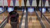 Den mest uheldige skud i bowling