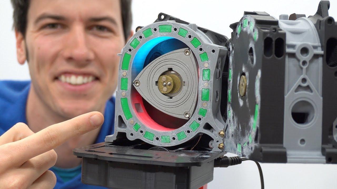 Osoitus toiminnan wankelmoottori kolmiulotteiselta tulostin  2456bc8887