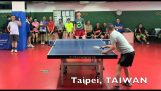 The elusive shots in table tennis
