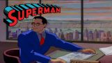 The first episode of the animation Superman (1941)