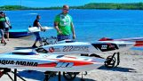 RC speedboats with impressive speed