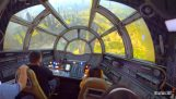 Ride on the Millennium Falcon at Disneyland