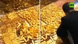 13,5 tons of gold were found in the house former mayor in China