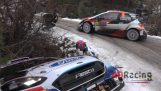 Accidents in the Rally of Monte Carlo