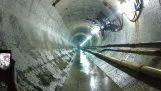 Eksplosjon i en tunnel