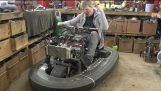 Squeezing 600cc 100BHP Engine in a Bumper car #2 Colin Furze Top Gear Project