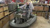 סחיטת מנוע 100BHP 600cc בתוך # מכונית מתנגש 2 פרויקט Gear קולין תלתלים למעלה