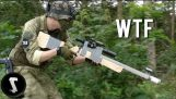 Guy Brings Home-made Airsoft Gun and Destroys Everyone….