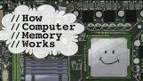 कंप्यूटर स्मृति कैसे काम करता है