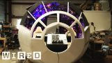 Full-Size Millennium Falcon Cockpit Built In A Garage