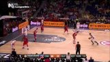 CSKA Moscou vs Olympiakos 68-70 av. J.-C. Faits saillants EL Final Four Demi-finale {15/5/2015}