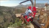 Take a Ride on the Terror Dactyl Canyon Swing