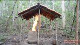 Primitive Technology: Barrel Tiled Shed