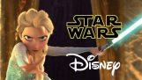 Star Wars Disney – Lasa sa curga – Lăsaţi-o să merg parodie congelate