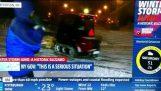 New York City Blizzard Juno 2015: Сняг Plow понички