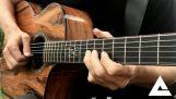 A Hotel California egyéni – A sasok – Akusztikus gitár Cover