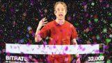 Zašto sneg i konfete upropastiti kvaliteta na YouTube