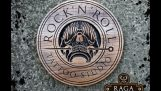 "Woodcarving – Logo – ""Rock 'N' Roll Tattoo Studio"""