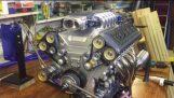 Model V10 motor elektronisk brændstofindsprøjtning