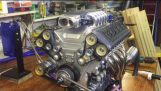 Model V10 engine electronic fuel injection