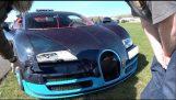 $2 Million Bugatti Veyron 208mph Crash