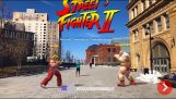 Die Street Fighter II für Augmented Reality