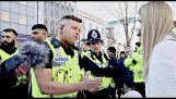 """England: They provoke the Muslim community by distributing leaflets saying """"Allah is gay"""""""